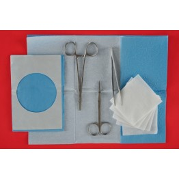 Disposable sterile suture procedure kit ref. AK-2040