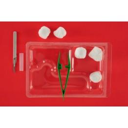 Еднократен стерилен комплект за сваляне на шев реф. АК-2080
