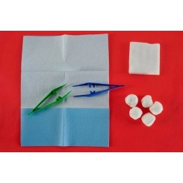 Disposable sterile dressing kit ref. AK-1010