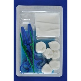Disposable sterile dressing kit ref. AK-1100