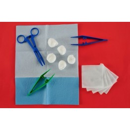Disposable sterile dressing kit ref. AK-1140