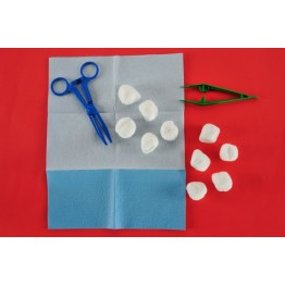 Disposable sterile dressing kit ref. AK-1150