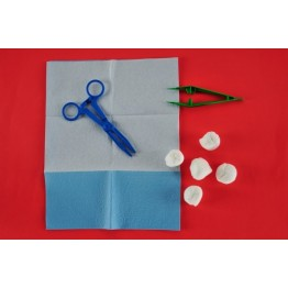 Disposable sterile dressing kit ref. AK-1160