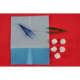 Еднократен стерилен комплект за превръзка реф. АК-1190