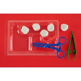 Еднократен стерилен комплект за превръзка реф. АК-1260