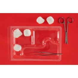 Disposable sterile suture removal kit ref. AK-2060