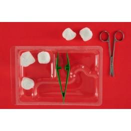 Еднократен стерилен комплект за сваляне на шев реф. АК-2070